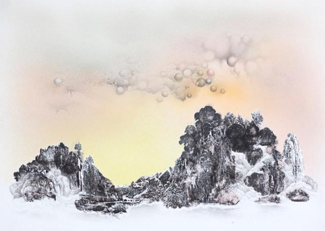 Warm Glow, Burning Through the Clouds cr Anouk Mercier