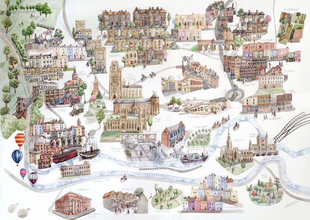 Bristol Map cr Laura Hallett