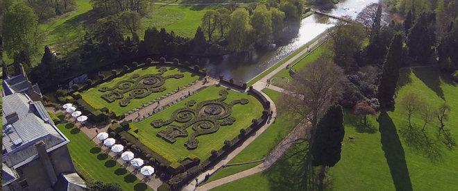 Abbey Combe Hotel gardens