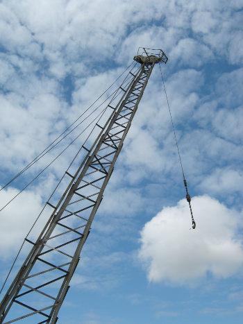Bristol crane by Judy Darley
