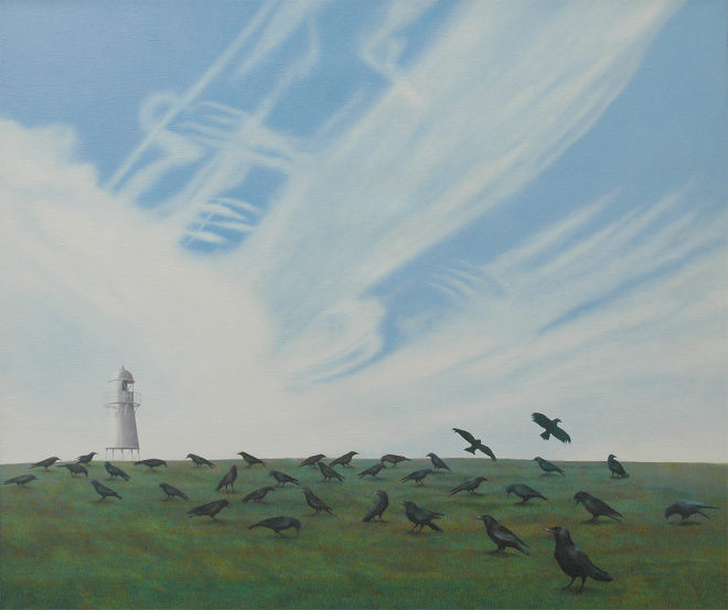 Field of Crows by Stephen Jacobson