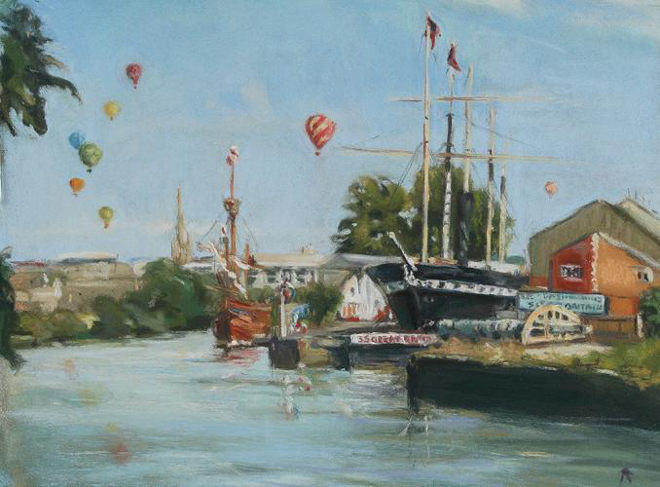 Harbourside, Bristol cr Linda Alvis