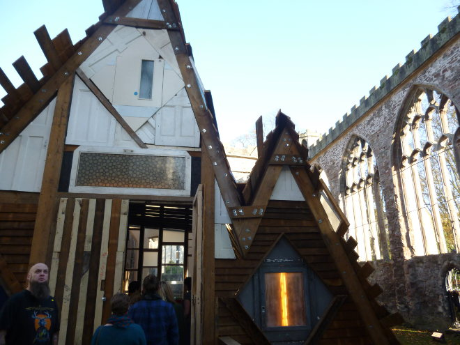 Santum edifice by Theaster Gates pic cr Judy Darley