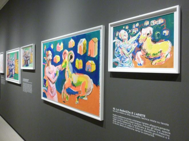 Dario Fo exhibition cr Judy Darley