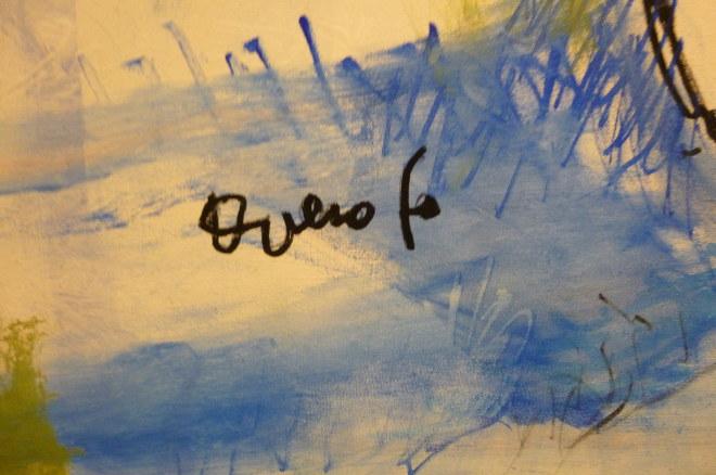 Dario Fo's signature