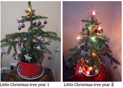 LittleChristmasTree yr1 and 2