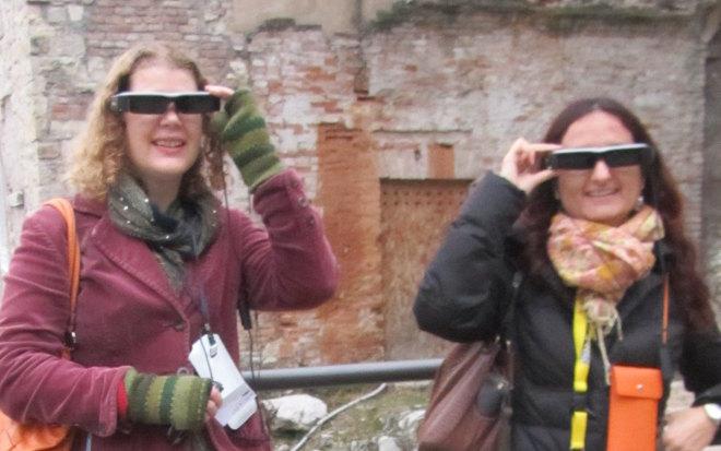 Sampling the smart specs cr Edith Koechi