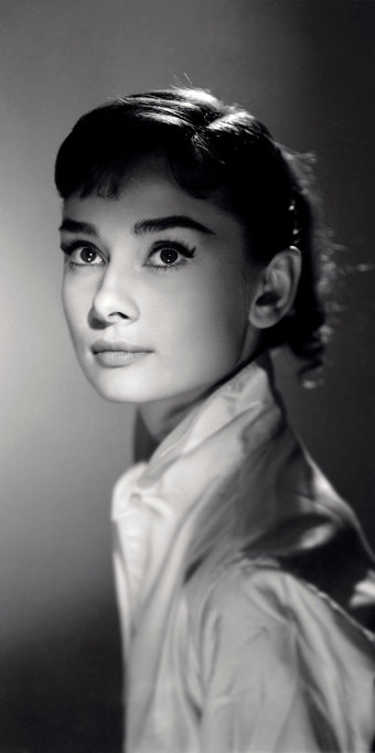 Audrey Hepburn by Jack Cardiff from Simon Regan Collection and Jack Cardiff
