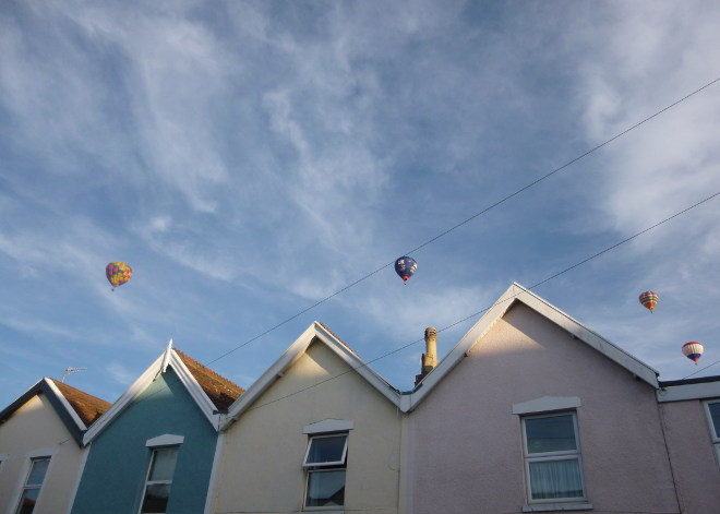 Bristol hot air balloons cr Judy Darley