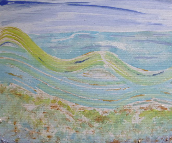 Seascape for Pad by Judy Darley