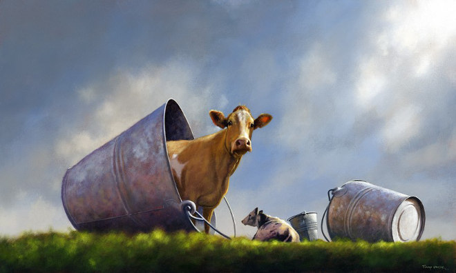 Spilt Milk by Jimmy Lawlor