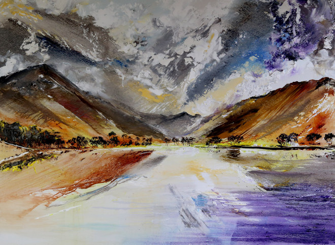 Changing Skies over Buttermere by Peter Hill