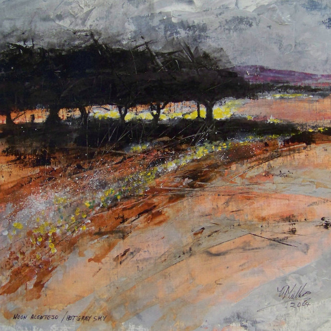 Noon Alentejo, Hot Grey Sky by Tim Mullins