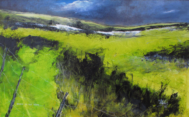 Storm on the Downs by Tim Mullins
