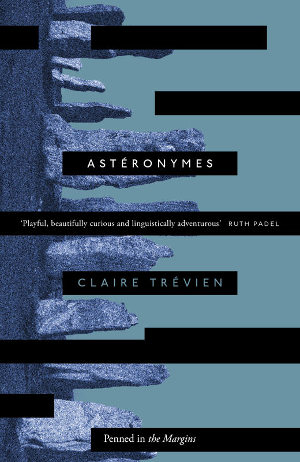 Asteronymes by Claire Trevien cover