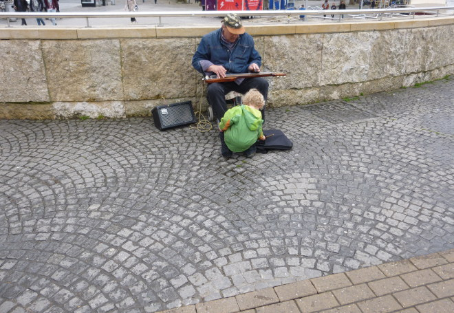 Boy meets the busker cr Judy Darley