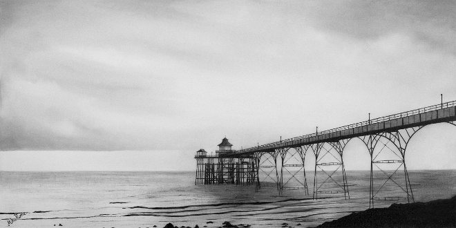 Clevedon Pier by Mike Rome