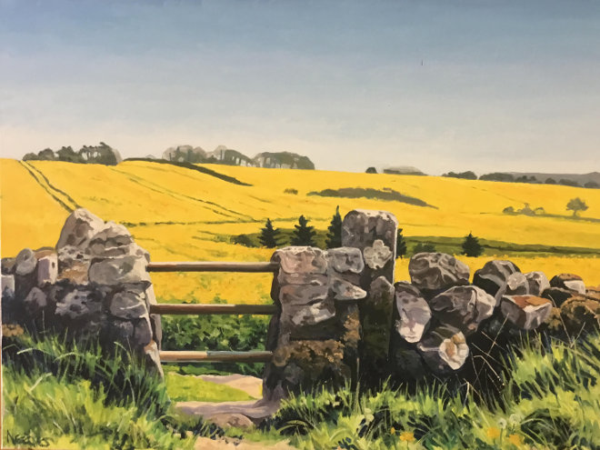 Mendip stile by Paul Needles