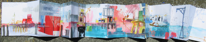 Karen Stamper sketch book
