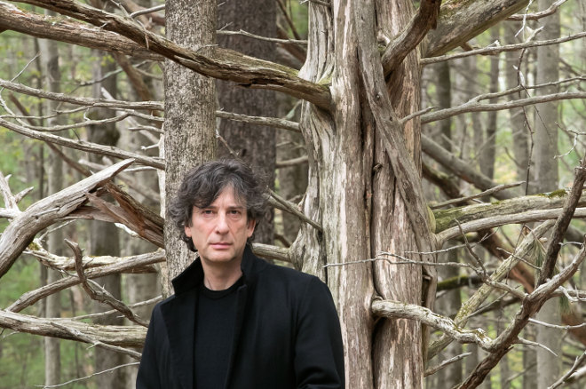 Neil Gaiman. Photo by Beowulf Sheehan