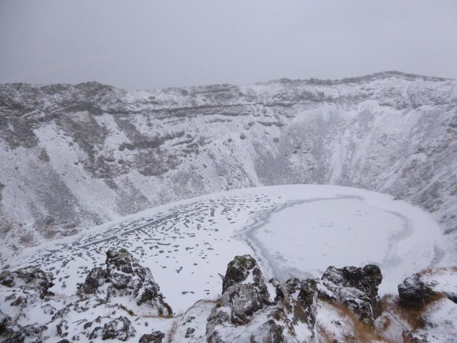 Kerid Crater, Iceland photo by Judy Darley