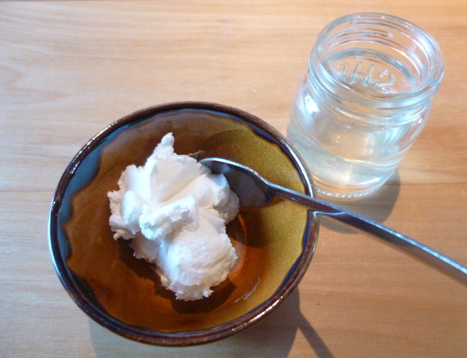 Skyr and whey photo by Judy Darley