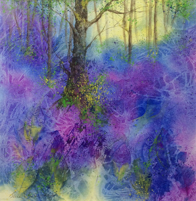Bluebell Woodland by Jane Betteridge