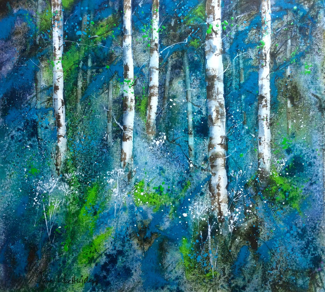 Forest Blues by Jane Betteridge