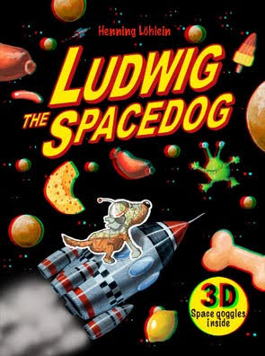Ludwig the Spacedog cover by Henning Lohlein
