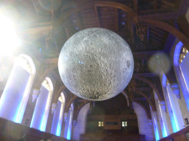Museum of the Moon by Luke Jerram photo1 by Judy Darley
