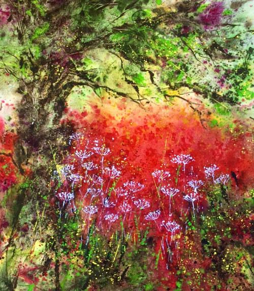 Poppy Field by Jane Betteridge