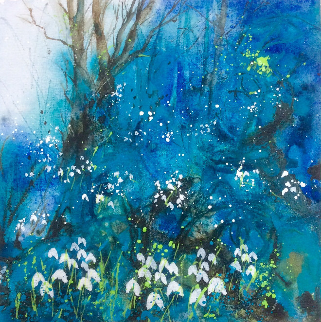 Snowdrop Wood by Jane Betteridge