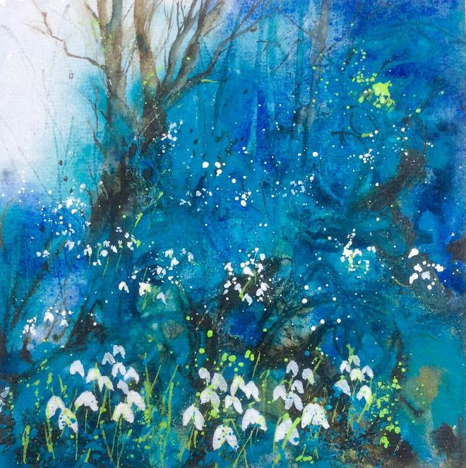 Snowdrop Wood by Jane Betteridge