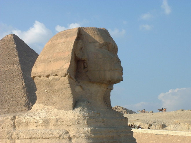 Sphinx, Egypt, by Justin Newland
