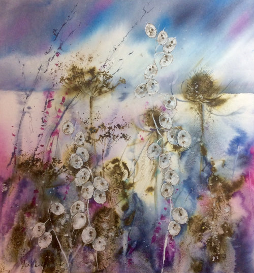 Teasles and Honesty by Jane Betteridge