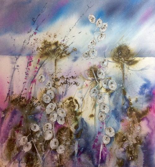 Teasles and Honesty by Jane Betteridge