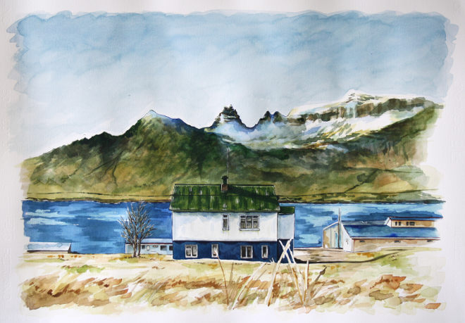 Green House, Iceland, by Lilly Louise Allen