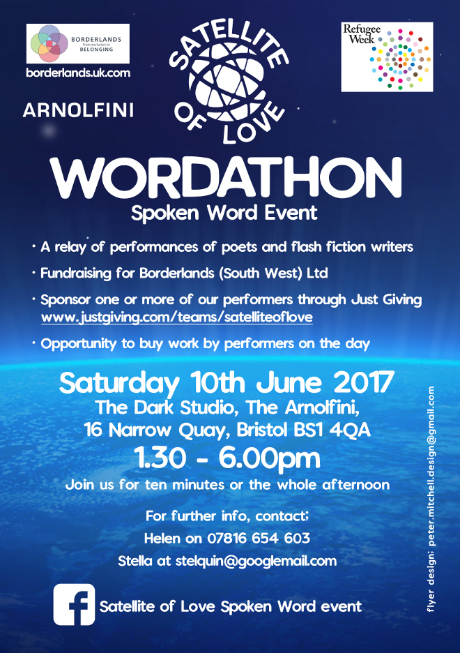 Satellite of love - Spoken Word Event - 10 June