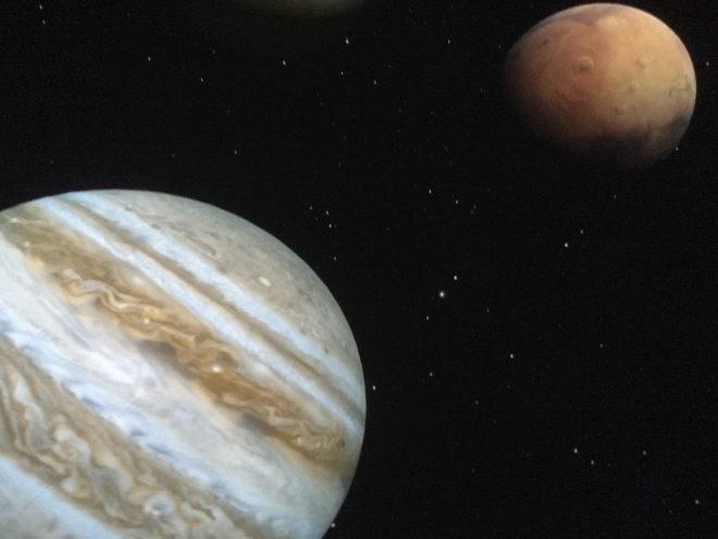 Exploring the Solar System Planetarium show