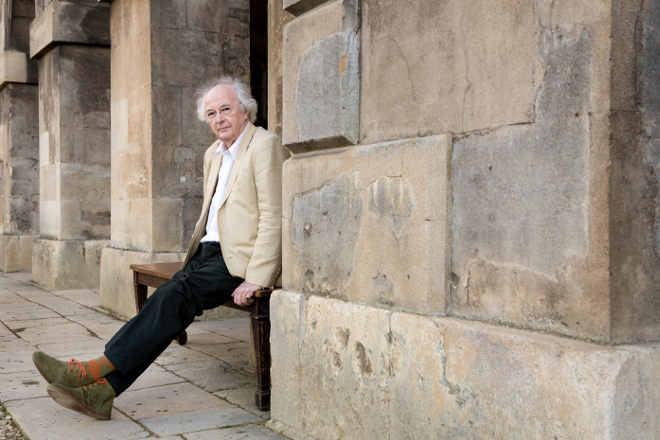 Philip Pullman photographed by Michael Leckie
