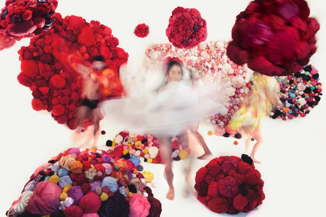 DancinginMocoMoco#3 by Natsuko Hattori