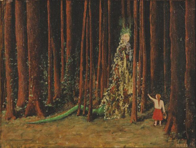 Die Waldfrau by Meret Oppenheim_1939