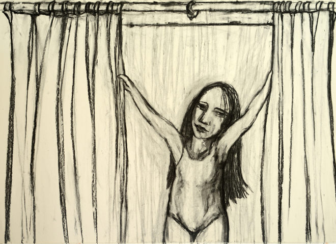 Drawn Curtain still image by Debbie Lee