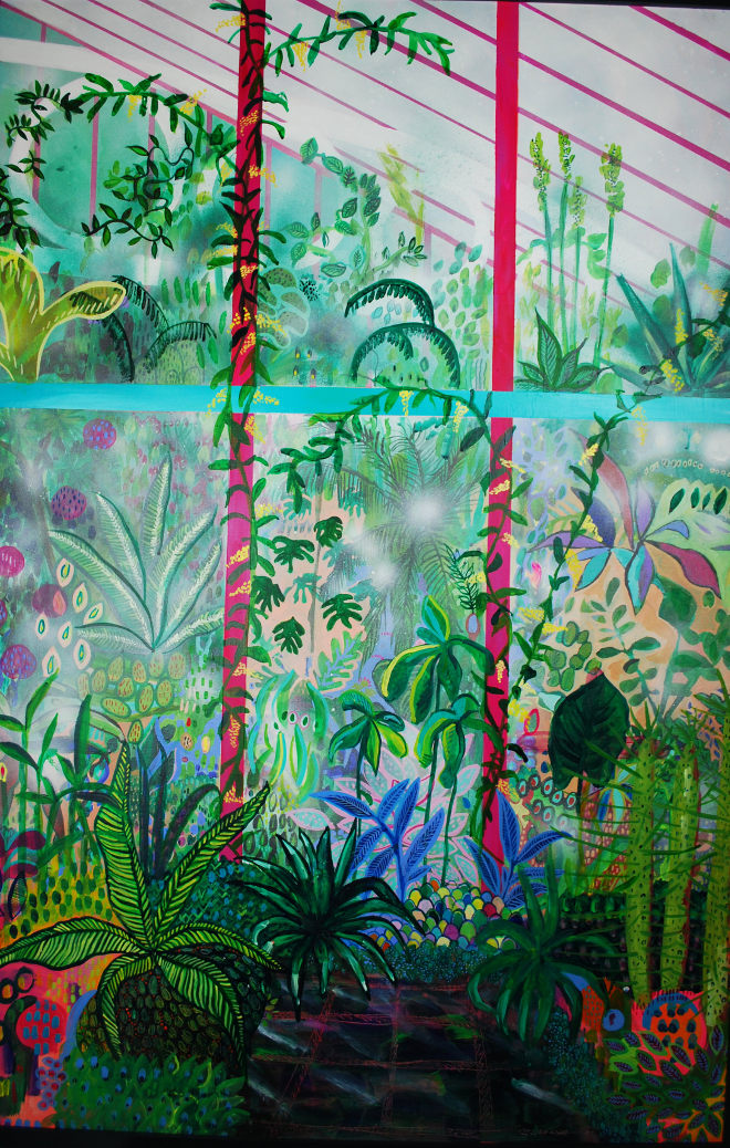 Herbaceous Hot House 3 by Grace Green