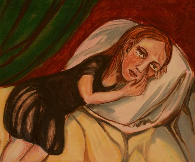 Sadness by Debbie Lee
