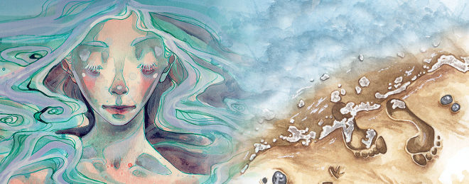 Selkie and Mermaid stories with Nicola Davies