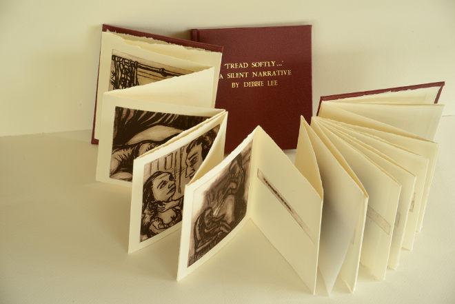 Tread Softly artist's book by Debbie Lee