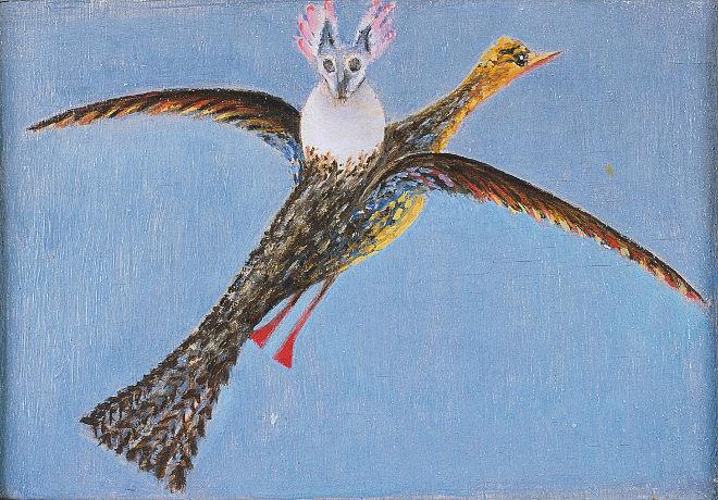 Vogel mit Parasit by Meret Oppenheim_1939