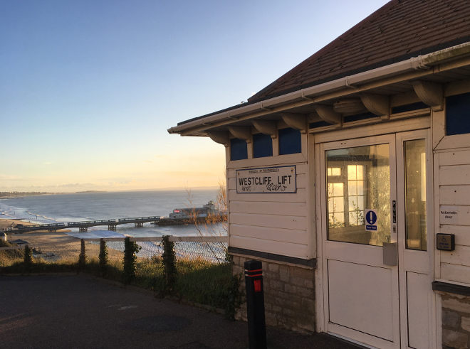 Westcliff Lift, Bournemouth cr Judy Darley