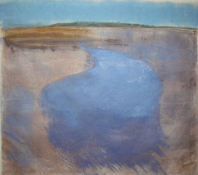 Sandbay Reflections by Ruth Ander